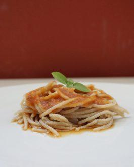 Pratos Low Carb – Espaguete de abobrinha com quinoa