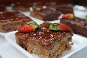 Torta de Morango com Baunilha